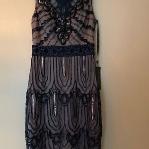 Sue Wong~  NWT!  Dazzling cocktail dress!
